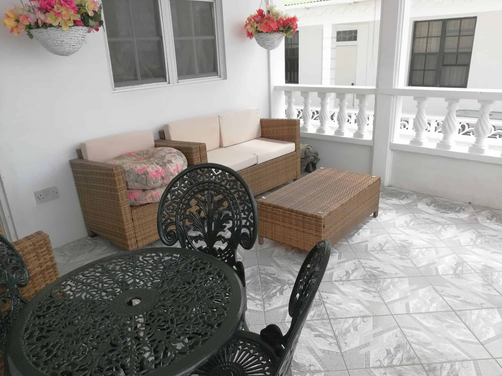 Veranda of the house for sale in Checkhall